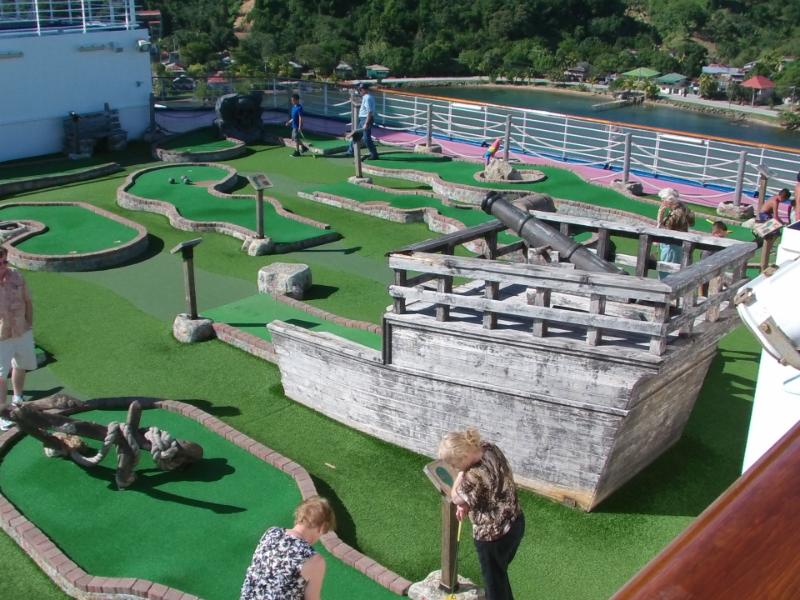 Carnival Dream Miniature Golf