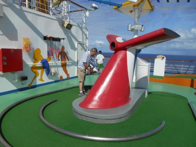 Carnival Magic Miniature Golf