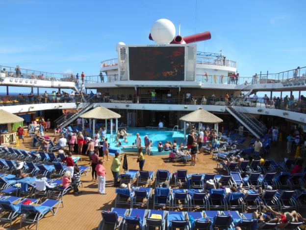 Carnival Magic Pool Deck