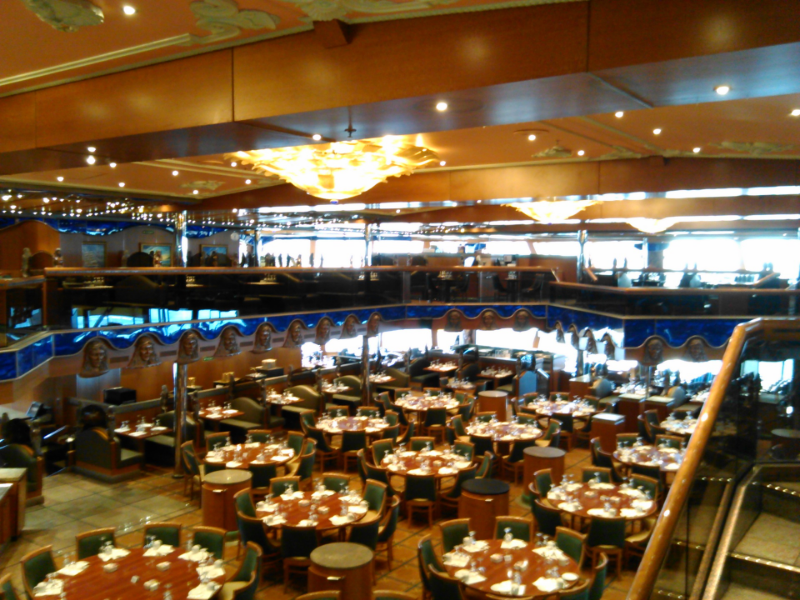 Carnival Victory Main Dining Room