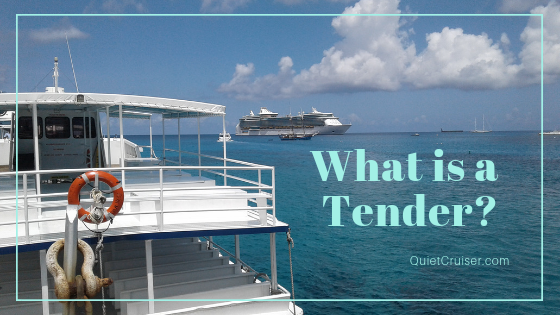 Cruise ship tender