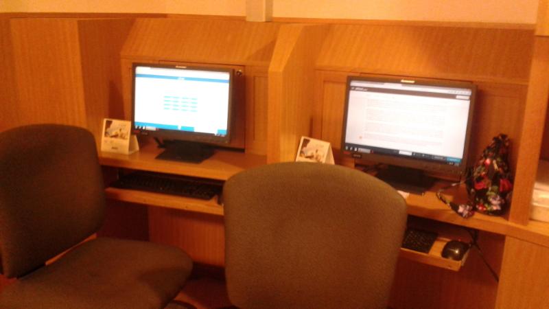 Oasis of the Seas Computer Area