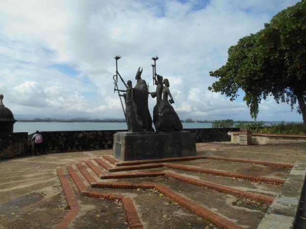 Puerto Rico Statue 2