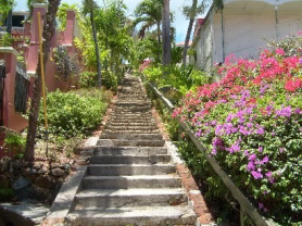 St Thomas 99 Steps Charlotte Amalie