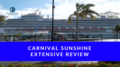 Extensive Review of the CarnivalSunshine