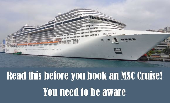Read this before you book MSC Cruises USA in2021!